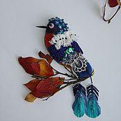 Украшения ручной работы. Ярмарка Мастеров - ручная работа Синяя птица удачи. Handmade.