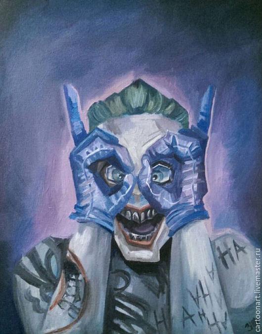 Фэнтези ручной работы. Ярмарка Мастеров - ручная работа. Купить Joker (DC comix). Handmade. Dc, comix, joker