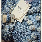 """Одежда ручной работы. Ярмарка Мастеров - ручная работа Джемпер женский вязаный """"Зимняя фантазия"""". Handmade."""