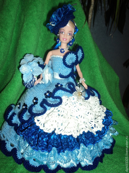 Одежда для кукол ручной работы. Ярмарка Мастеров - ручная работа. Купить Интерьерная кукла. Handmade. Кукла в подарок, пряжа для вязания