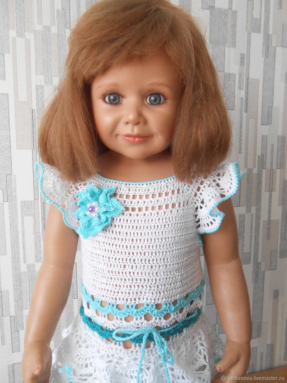"""Вязанное крючком платье """"Маленькая принцесса"""""""