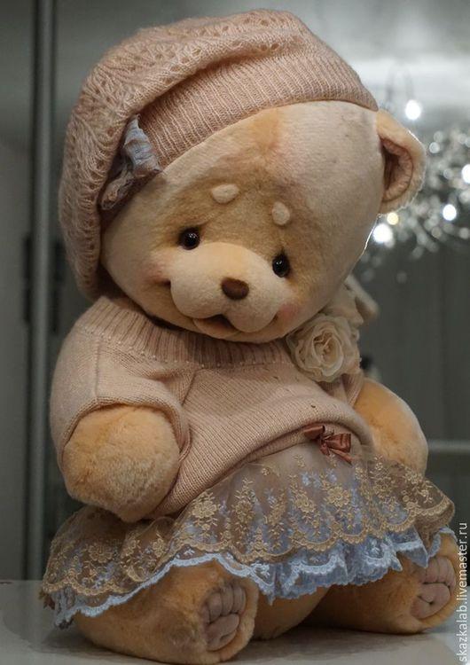 Мишки Тедди ручной работы. Ярмарка Мастеров - ручная работа. Купить Pretty (50 см). Handmade. Бежевый, пушистый