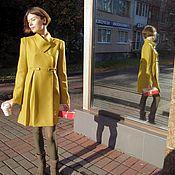 Одежда ручной работы. Ярмарка Мастеров - ручная работа Пальто осеннее из шерсти на подкладе. Handmade.