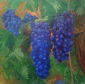 Картины и панно handmade. Livemaster - original item Royal grapes. Handmade.