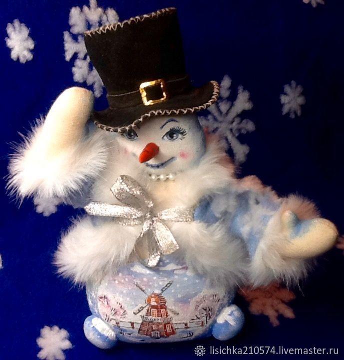 Снеговик, Мягкие игрушки, Великий Новгород,  Фото №1