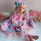 Будуарная кукла ручной работы. Ярмарка Мастеров - ручная работа Лилу будуарная куколка. Handmade.