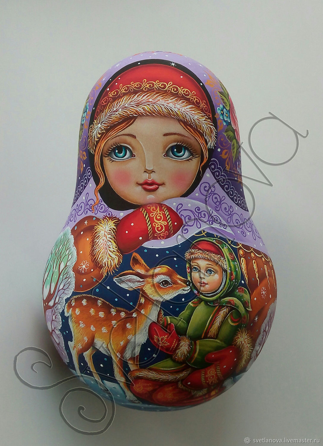 Tumbler with a ring Forest guest, Dolls1, Sergiev Posad,  Фото №1