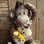 Материалы для творчества ручной работы. Ярмарка Мастеров - ручная работа Мастер класс Винтажная обезьянка. Handmade.