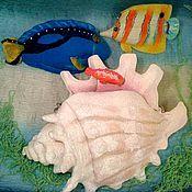 """Сумки и аксессуары ручной работы. Ярмарка Мастеров - ручная работа Арт-сумка """"Подводная одиссея"""". Handmade."""