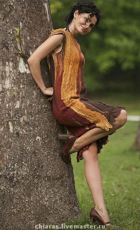 Платья ручной работы. Ярмарка Мастеров - ручная работа. Купить авторское платье. Handmade. Яркое платье, рыжее платье, лето