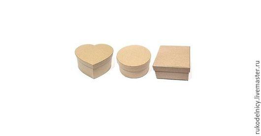 Заготовки коробок из папье-маше