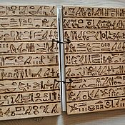 "Канцелярские товары handmade. Livemaster - original item Notepad A5 ""Egypt"". Handmade."