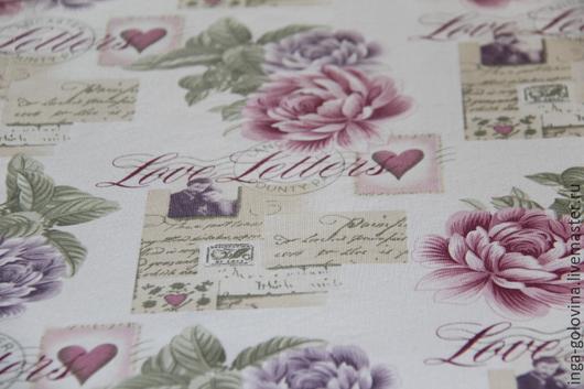 Текстиль, ковры ручной работы. Ярмарка Мастеров - ручная работа. Купить Декоративная дорожка на стол Любовные письма. Handmade. Разноцветный