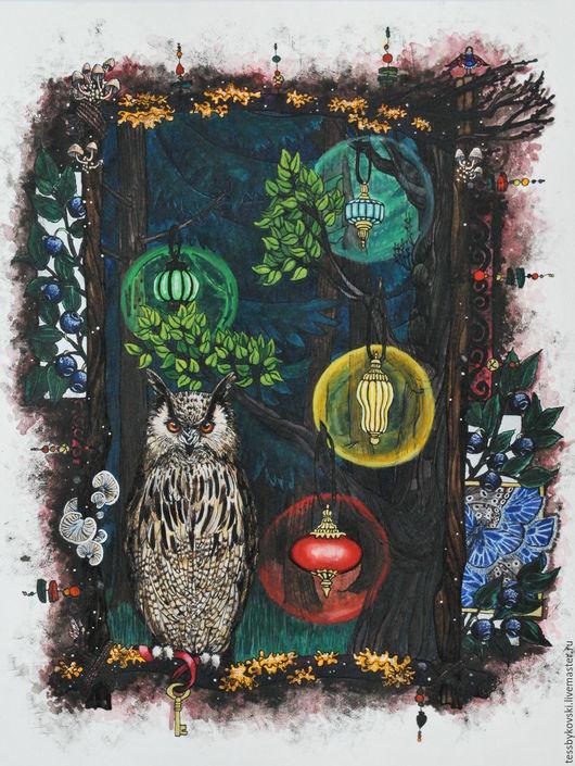 серия `The Secret Forest`  5/9 `Там, где кроется Мудрость ` Тася Быкова
