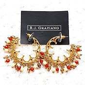 Винтаж handmade. Livemaster - original item Earrings Oriental fairy tales,Graziano,USA,boho,ethno,hippie, as a gift. Handmade.