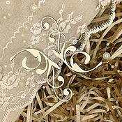 Вырубки для скрапбукинга ручной работы. Ярмарка Мастеров - ручная работа Чипборд Вензеля. Handmade.
