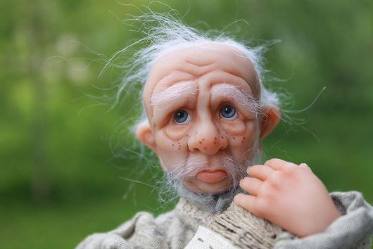 Коллекционные куклы ручной работы. Ярмарка Мастеров - ручная работа. Купить Don Luigi. Handmade. Гном, краски масляные
