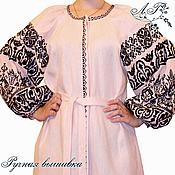Одежда ручной работы. Ярмарка Мастеров - ручная работа Платье Нежный розовый. Handmade.