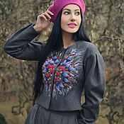 handmade. Livemaster - original item Warm clothes in the ethnic style of