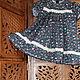 Одежда для девочек, ручной работы. Ярмарка Мастеров - ручная работа. Купить ОЧАРОВАНИЕ платье для девочки. Итальянский хлопок. Handmade.