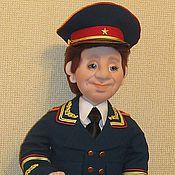 Куклы и игрушки ручной работы. Ярмарка Мастеров - ручная работа Генерал. Кукла в технике скульптурный текстиль.. Handmade.