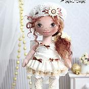 Куклы и игрушки ручной работы. Ярмарка Мастеров - ручная работа Текстильная кукла Карамелька. Handmade.