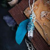 Украшения handmade. Livemaster - original item Pendant in rock crystal. Handmade.