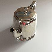 Винтаж ручной работы. Ярмарка Мастеров - ручная работа Винтажный чайник, серебрение EPNS, Англия, конец 1978г.. Handmade.