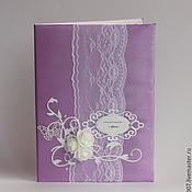 Свадебный салон handmade. Livemaster - original item The location for the certificate purple. Handmade.