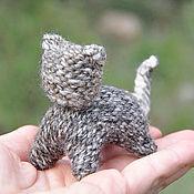 Куклы и игрушки ручной работы. Ярмарка Мастеров - ручная работа Котя - вязаная игрушка. Handmade.