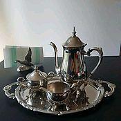 Винтаж handmade. Livemaster - original item 4-piece coffee set, Italy. Handmade.