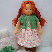 Куклы и игрушки ручной работы. Ярмарка Мастеров - ручная работа Лисичка, 33 см. Handmade.