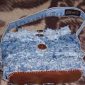Сумки и аксессуары ручной работы. Ярмарка Мастеров - ручная работа джинсовая сумка. Handmade.