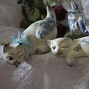 Для дома и интерьера handmade. Livemaster - original item vintage in blue and white (ceramics). Handmade.