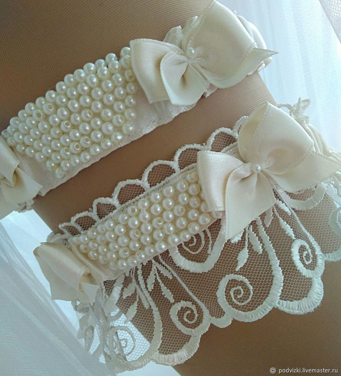 0209d5502 Clothing   Accessories handmade. Livemaster - handmade. Buy Garter for wedding  bride  emerald ...