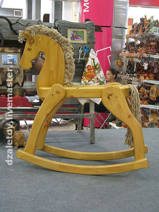 Техника ручной работы. Ярмарка Мастеров - ручная работа. Купить лошадка-качалка. Handmade. Качалка, элементы интерьера, новый год 2014