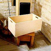 Для дома и интерьера handmade. Livemaster - original item Storage box great decor (60×30×25 cm) with handles. Handmade.