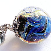 Украшения handmade. Livemaster - original item Pendant View from space. Handmade.