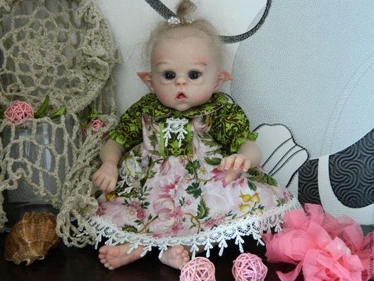Кукла реборн Офелия (молд мини Офелия от Ольги Ауэр)