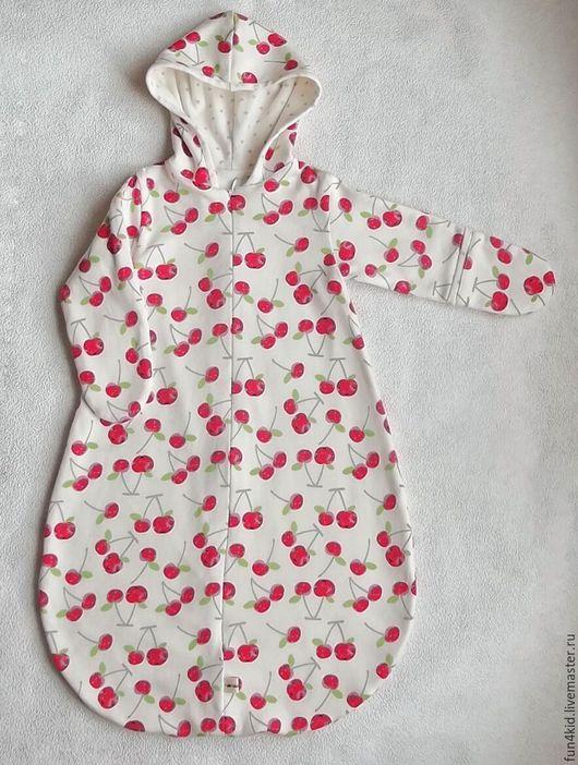 Одежда ручной работы. Ярмарка Мастеров - ручная работа. Купить Спальный мешочек для малыша. Handmade. Комбинированный, в коляску, пижамка, сплюшка