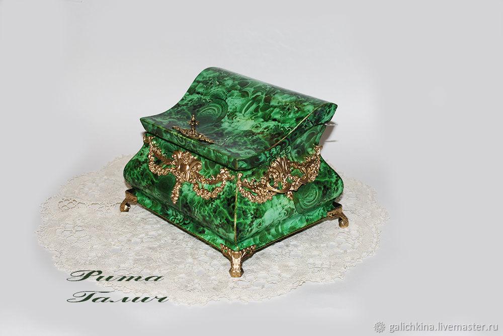 Large casket malachite casket, Box, Volgograd,  Фото №1