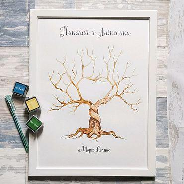 Свадебный салон ручной работы. Ярмарка Мастеров - ручная работа Дерево пожеланий. Handmade.