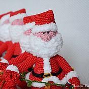 Сувениры и подарки ручной работы. Ярмарка Мастеров - ручная работа Санта-Клаус на бутылку. Handmade.