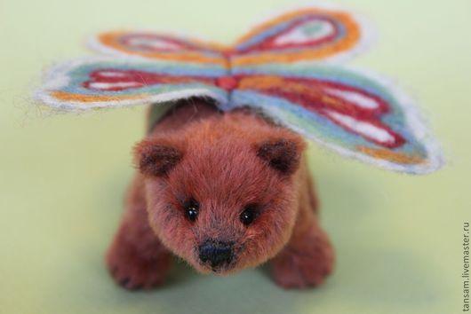 Мишки Тедди ручной работы. Ярмарка Мастеров - ручная работа. Купить Кэнди - мини мишка. Handmade. Рыжий, мини мишки