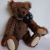 Куклы и игрушки ручной работы. Ярмарка Мастеров - ручная работа коричневая мишка. Handmade.