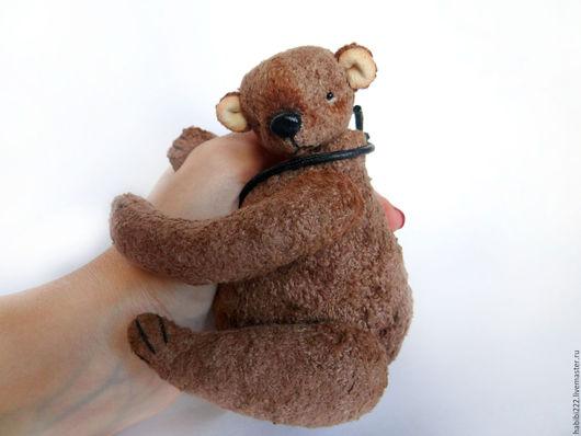 Мишки Тедди ручной работы. Ярмарка Мастеров - ручная работа. Купить Мишка Балу. Handmade. Коричневый, toy, игрушка, шплинты