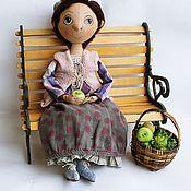 Куклы и игрушки ручной работы. Ярмарка Мастеров - ручная работа Леди с яблоками. Handmade.
