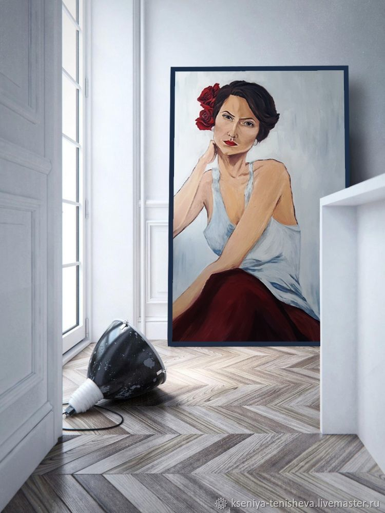 Портрет маслом на заказ, Картины, Москва,  Фото №1