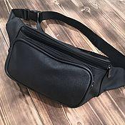Поясная сумка ручной работы. Ярмарка Мастеров - ручная работа Мужская сумка из натуральной кожи КРС. Handmade.