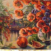 """Картины и панно ручной работы. Ярмарка Мастеров - ручная работа картина  """"Вкусное утро"""". Handmade."""